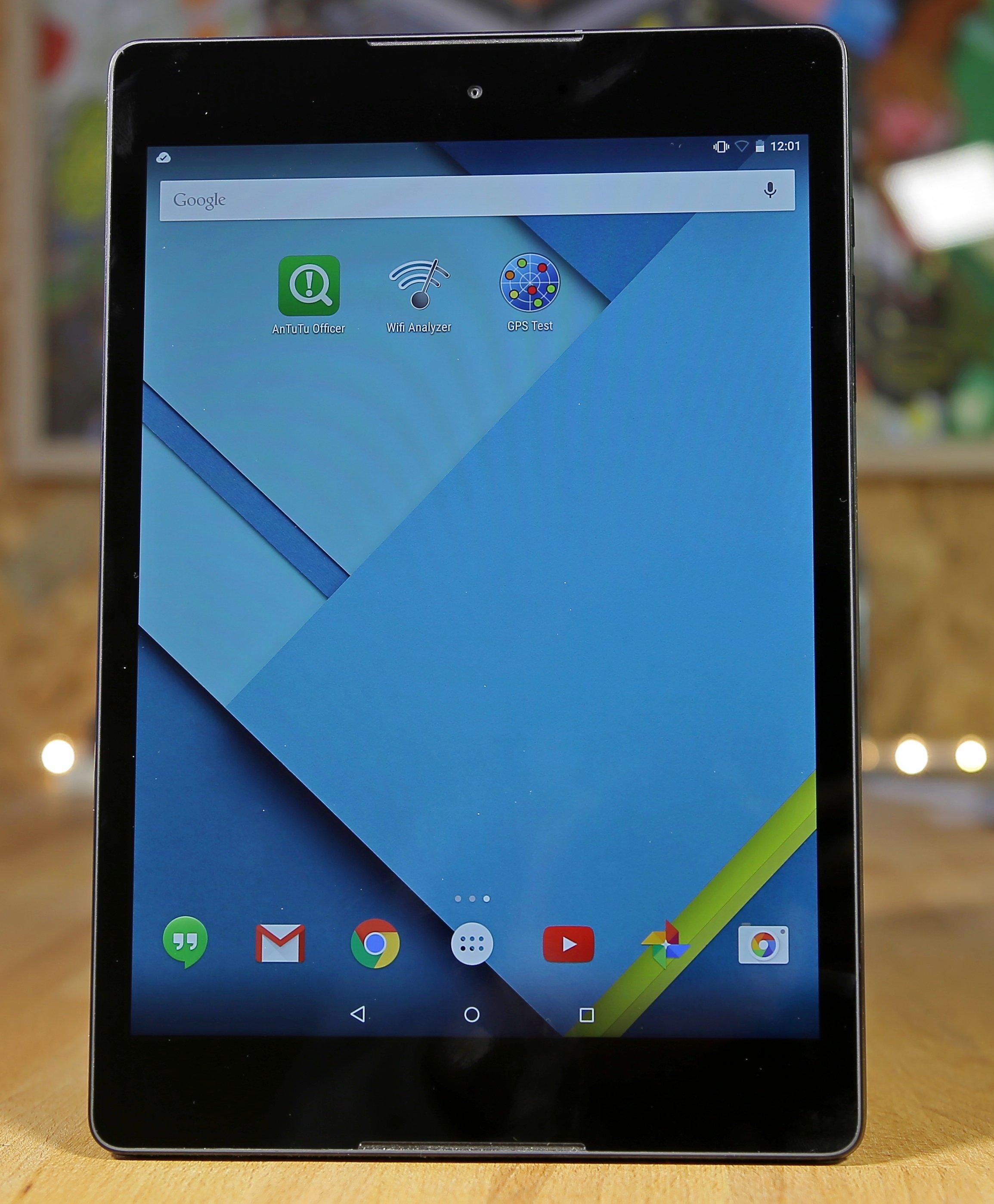 Nexus 9 экран