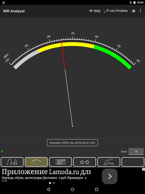 Nexus 9 сигнал