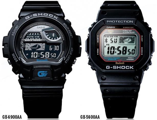 Bluetooth G-Shock первого поколения