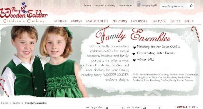 b21f91a58b237 Family look – единый стиль для детей и их родителей | Qwintry