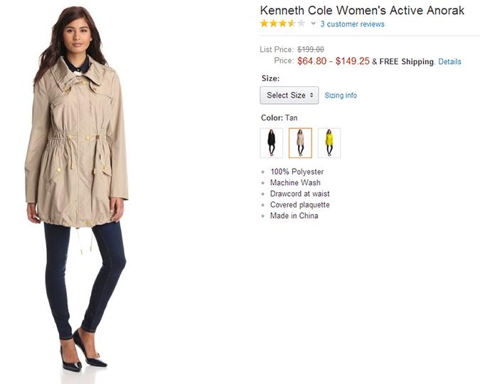 Женская одежда от Kenneth Cole